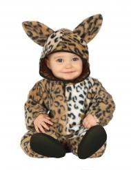 Costume da piccolo leopardo per neonato