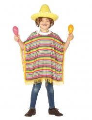 Costume poncho messicano per bambino
