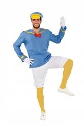 Costume da papero marinaio per uomo