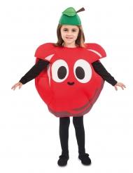 Costume da mela rossa per bambino