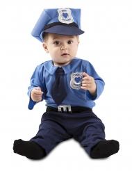 Costume da agente della polizia bebè