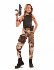 Costume da soldato per bambina