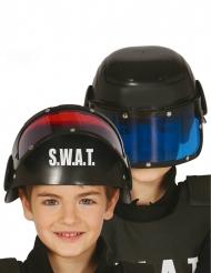 Casco con visiera SWAT bambino