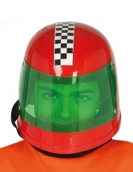 Casco da pilota di F1 rosso bambino