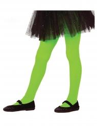 Calze verdi opache per bambina