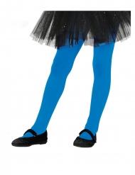 Calze blu opache per bambina