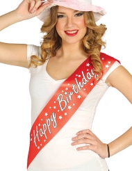 Fascia da miss Happy Birthday adulto