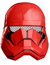 Mezza maschera rossa Sith Trooper™ per bambino