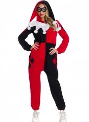 Costume tuta Harley Quinn™ adulto