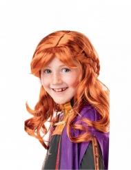 Parrucca da Anna Frozen 2™ per bambina