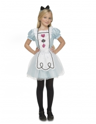 Costume da Alice meravigliosa per bambina