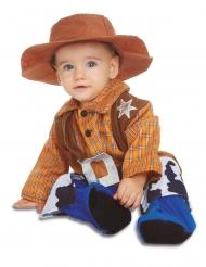 Costume con cappello da cowboy per bebè