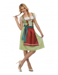 Costume Oktoberfest verde per donna