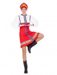 Costume danzatrice tradizionale russa donna