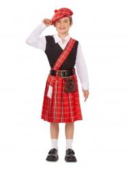 Costume da piccolo scozzese bambino