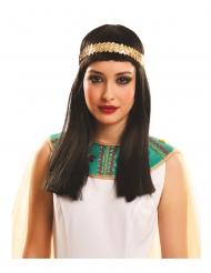 Parrucca lunga da Egizia per adulto