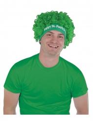 Parrucca afro verde San Patrizio per adulti