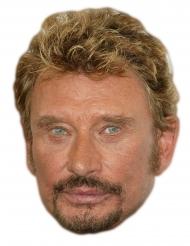 Maschera di cartone Johnny Halliday