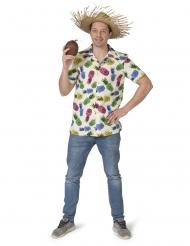 Camicia con motivi ad ananas per uomo
