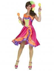 Costume danzatrice di rumba per donna