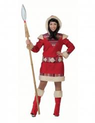 Costume vestito da eschimese nanook per donna