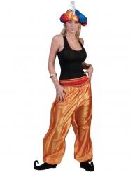 Pantalone da ballerina dorato per donna