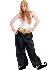 Pantalone da ballerina nero per donna