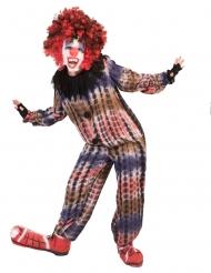 Costume da clown pauroso per bambino
