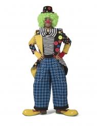Costume giacca da clown per uomo