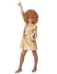 Costume disco oro per bambina