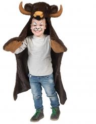 Mantello bisonte per bambino