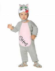 Costume da gattino per neonato