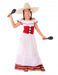 Costume da messicana per bambina