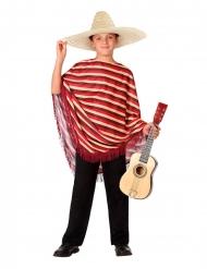 Costume da messicano con poncho per bambino