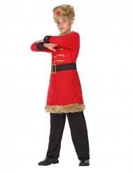costume da militare armata russa per bambino