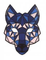 Maschera da lupo con LED per adulto