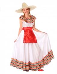 Costume da messicana per adolescente