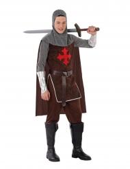 Costume da cavaliere crociato per adolescente