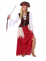 costume da pirata dei mari per adolescente