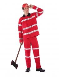 Costume da pompiere per adolescente
