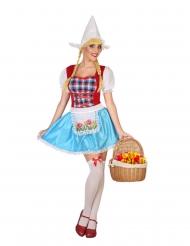 Costume da olandese per donna