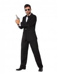 Costume da agente segreto in smoking uomo