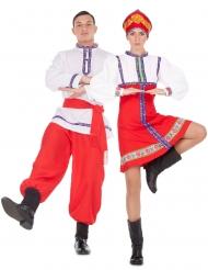 Costume di coppia tradizionale russa