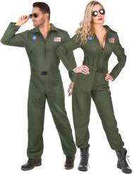 Costume da coppia di piloti per adulti