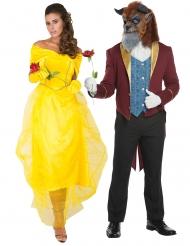 Costume di coppia Principessa e bestia