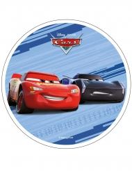 Disco in ostia Cars™ azzurro 21 cm
