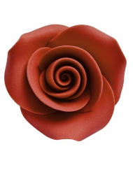 8 Mini rose di zucchero decorativi 3.3 cm