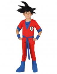 Costume da combattente manga per bambino