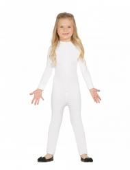 Tuta seconda pelle per bambini bianca