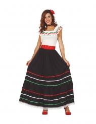 Costume lungo da messicana per donna